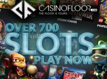 Casino Floor $300 Welcome bonus plus 300 Free Spins