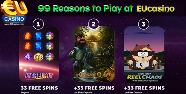 33 No Deposit Spins Bonus